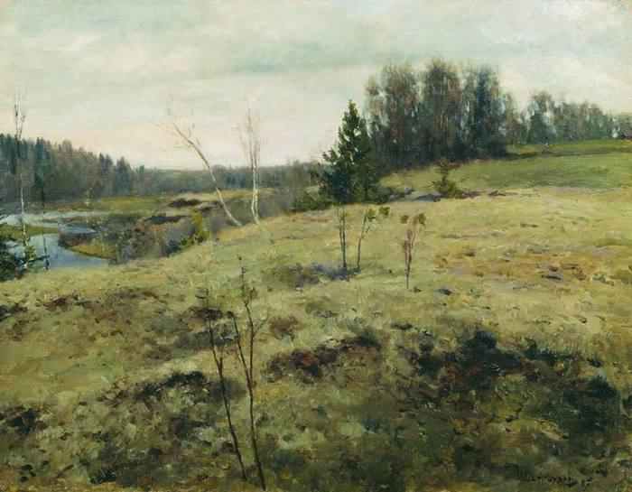 Ранней весной, 1887 (700x545, 59Kb)