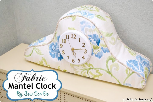 Waverly Fabric Clock Main Sew Can Do (640x427, 175Kb)