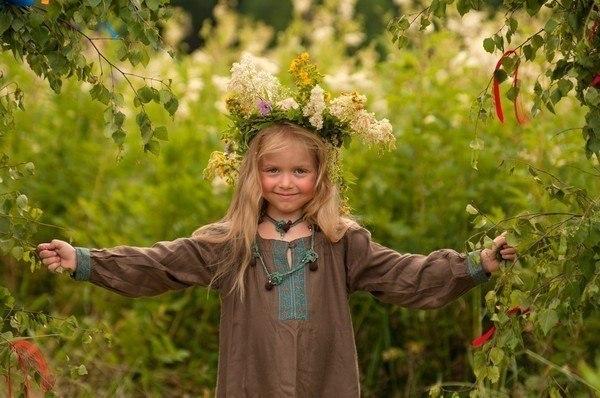 Наши дети славянские дети