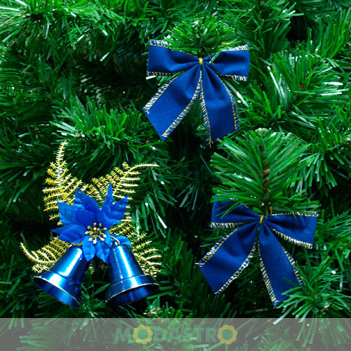 Новогодние украшения из ленточек своими руками