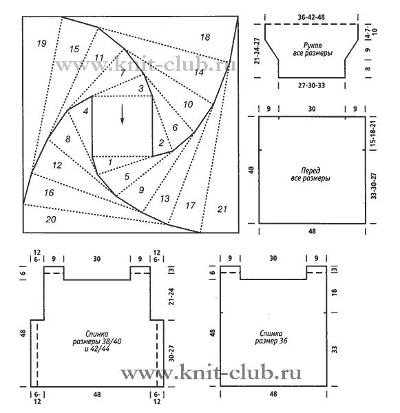Вязание крючком в стиле пэчворк схемы с подробным описанием 82