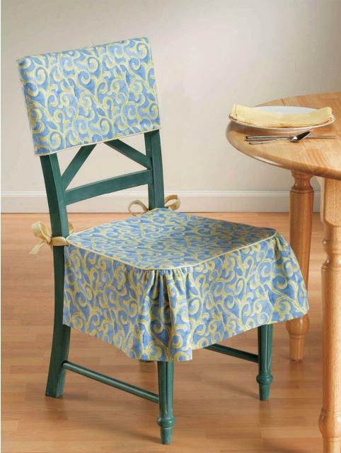 Чехлы на стулья своими руками на кухню фото