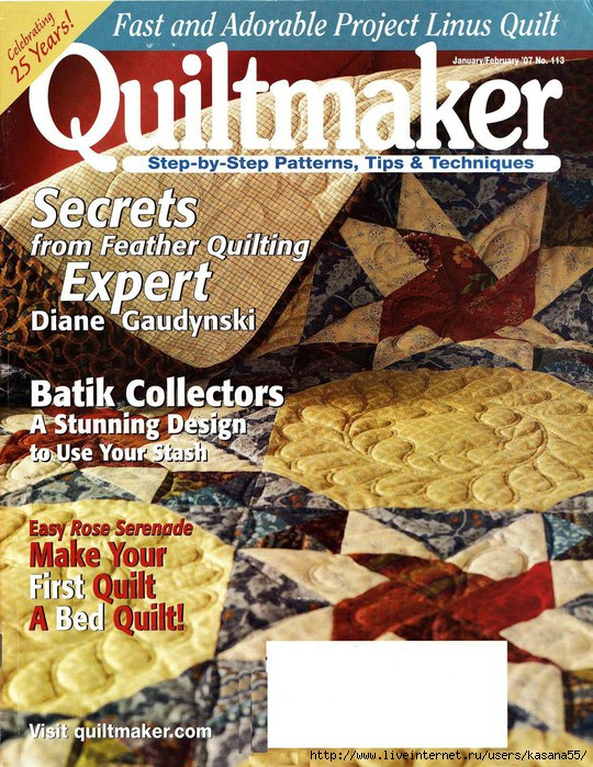 Quiltmaker 113 Jan.-Feb. '07 (540x700, 330Kb)