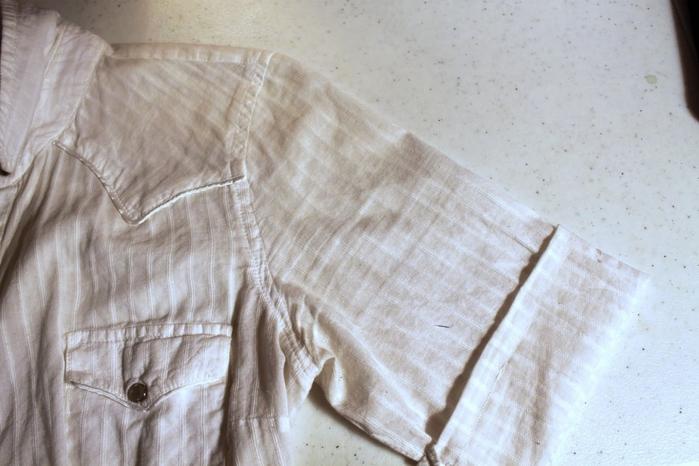 Как отрезать и подшить платье