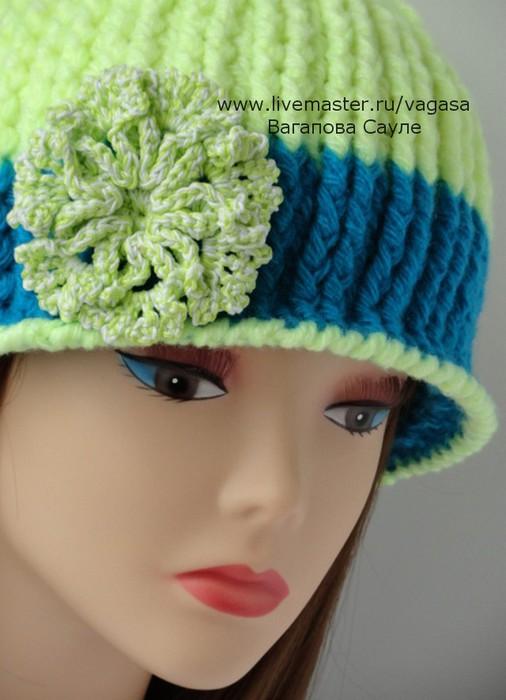шапка вязаная крючком    /5156954_001 (506x700, 72Kb)