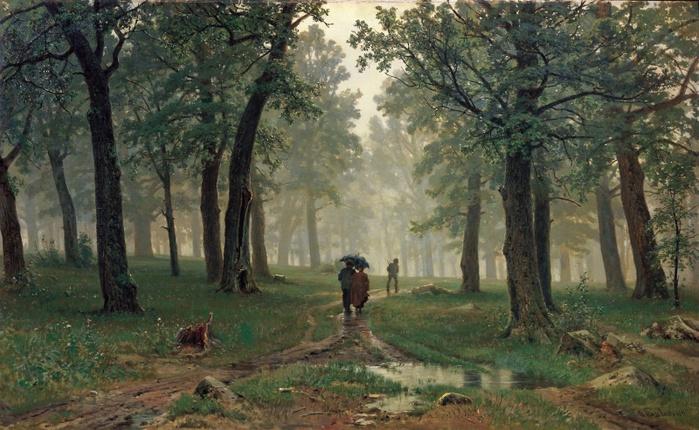 шишкин дождь в дубовом лесу (700x430, 152Kb)