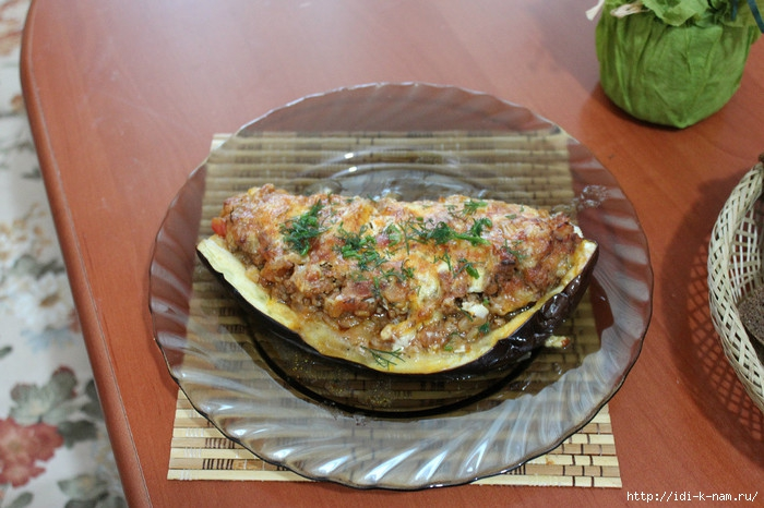 Оксана Кулакова. Кулинарные успехи. Баклажан фаршированный мясом/4682845_getImage (700x466, 227Kb)