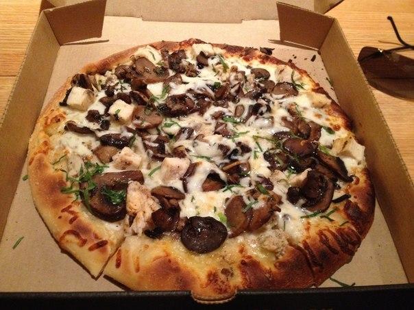 Пицца с грибами (604x453, 77Kb)