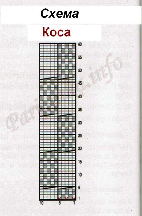 схема косы (461x700, 238Kb)