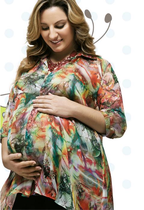 блузка из шифона для беременных (1) (479x700, 504Kb)