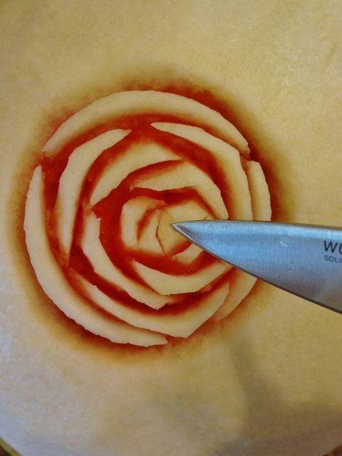 карвинг. розы из арбуза. салат из ананасов (46) (480x640, 168Kb)
