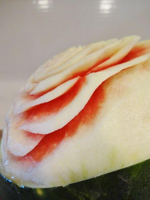 карвинг. розы из арбуза. салат из ананасов (62) (480x640, 147Kb)