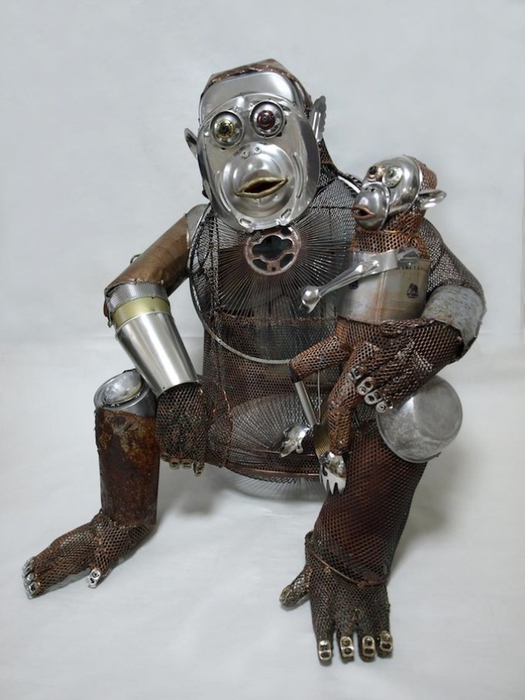 креативная скульптура Natsumi Tomita 1 (525x700, 187Kb)