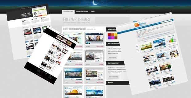 Сайты с бесплатными темами WorPress