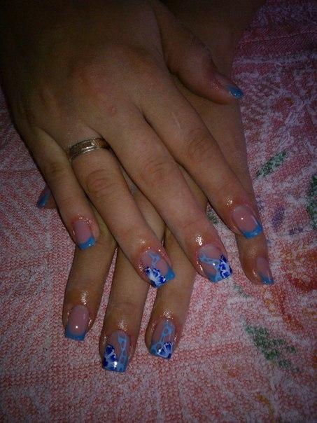 По теме нарощенные стильные ногти