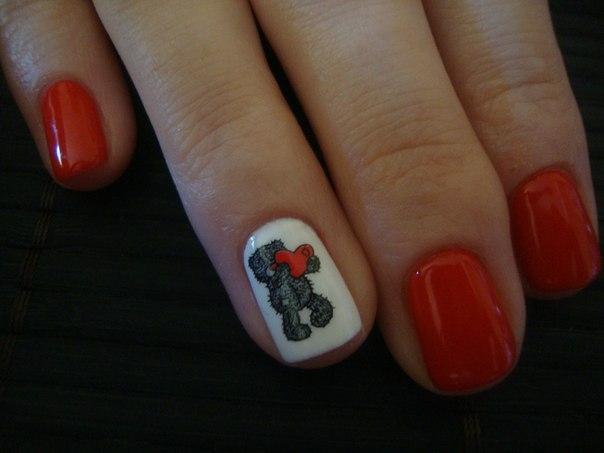 дизайн ногтей новинки 2012 фото: