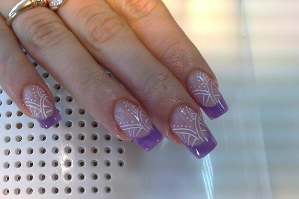 Дизайн квадратных ногтей 2016
