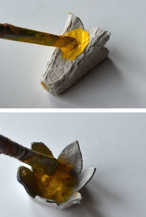 Нарциссы из яичных лотков. Мастер-класс (4) (471x700, 142Kb)