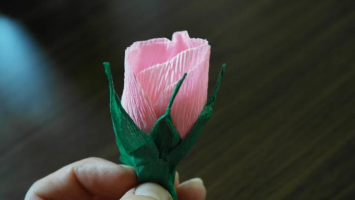 Букет тюльпанов из гофрированной бумаги. Фото мастер-класс (12) (700x393, 104Kb)