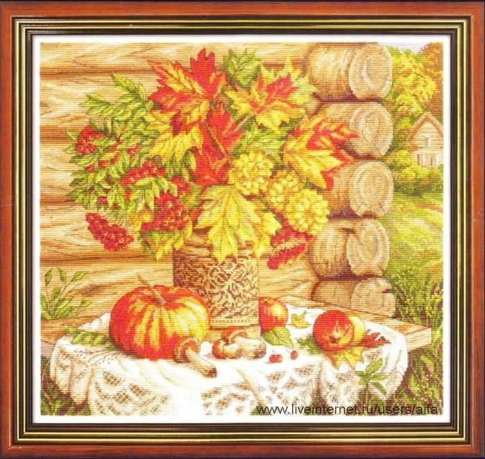 Panna-1392 Осенний натюрморт