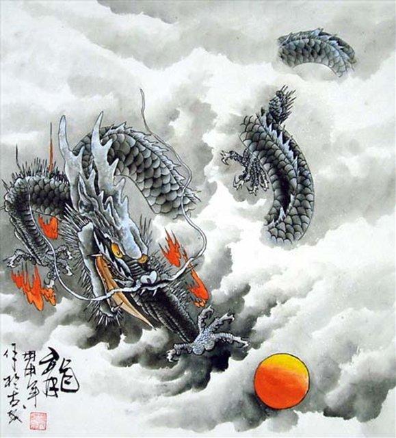 восточная живопись: