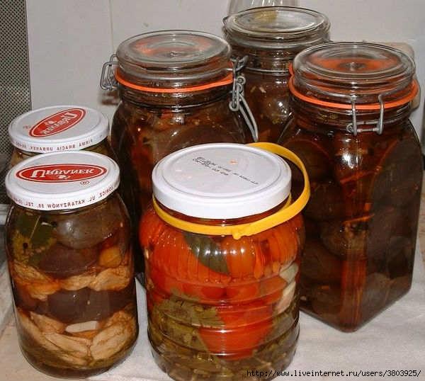 Маринованные фаршированные баклажаны пошаговый рецепт с картинками