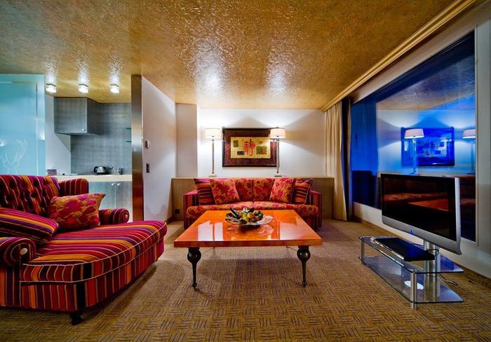 Tschuggen Grand отель в швейцарских альпах фото 8 (700x488, 303Kb)