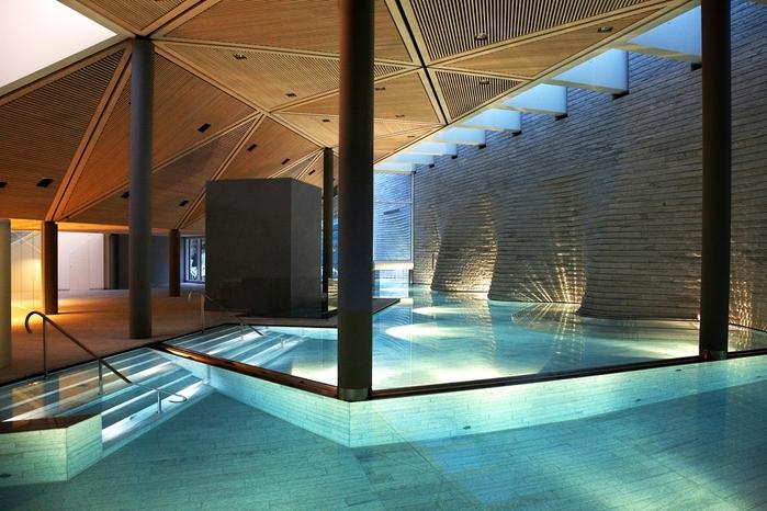 Tschuggen Grand отель в швейцарских альпах фото 12 (700x466, 280Kb)