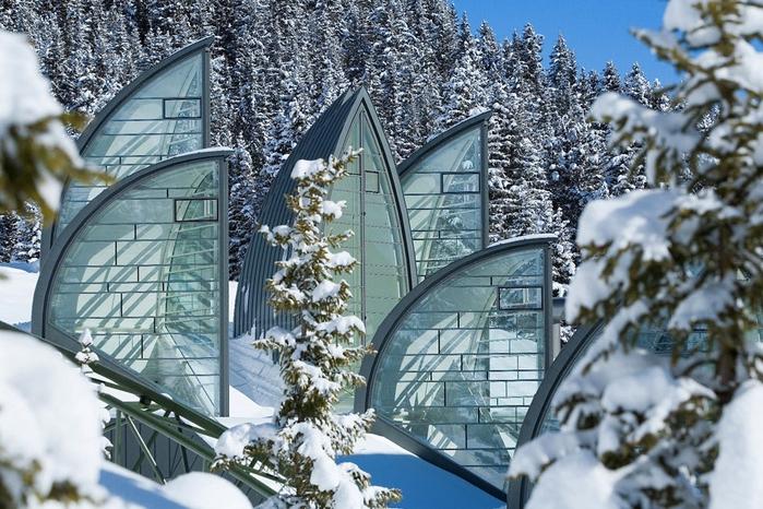 Tschuggen Grand отель в швейцарских альпах фото 15 (700x466, 320Kb)