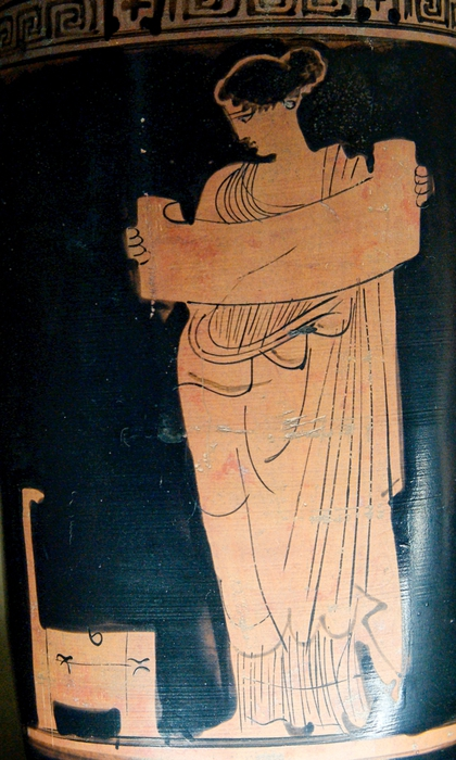 Louvre_читающая муза (420x700, 264Kb)