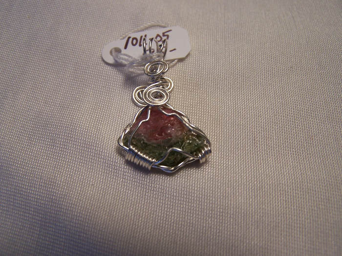 1011-05 watermelon tourmaline pendant, handcrafted CT jewelry (700x525, 462Kb)