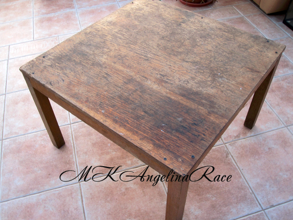 Как переделать старый столик