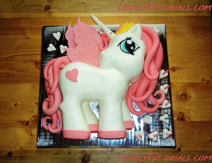Как сделать торт пони
