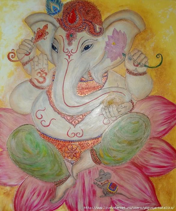 Ganesha (100х120). (586x700, 332Kb)