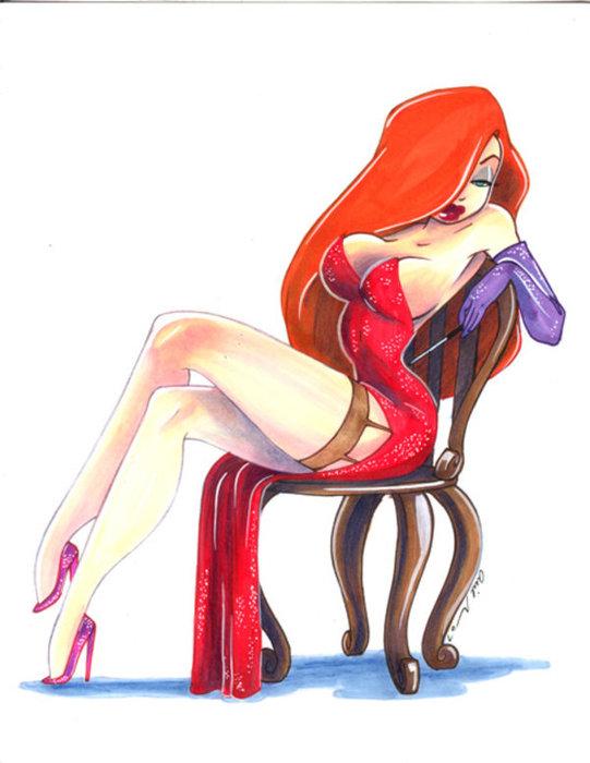 Сексуальное фото джесики рэбит фото 569-807