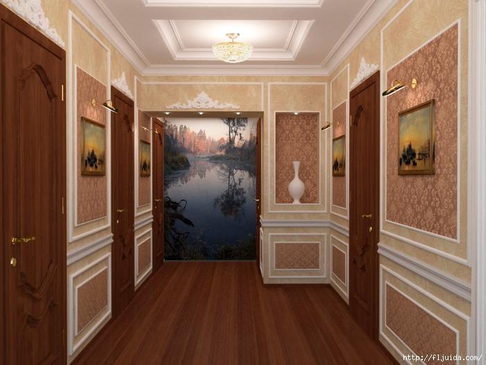 Красивый коридор своими руками