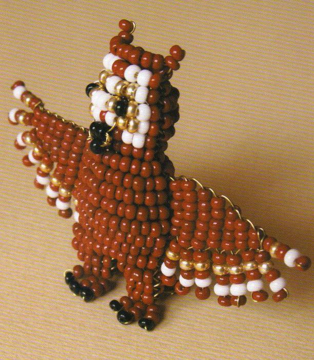 Сова. .  В наше время кроме схем для бисероплетения, устраивают некие мастер-классы по плетению и вышивке из бисера.