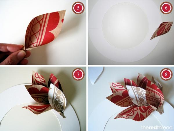 Как сделать венок из бумаги своими руками на голову