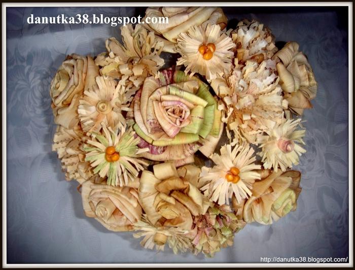 букет цветов из листьев кукурузы - талаша, мастер-класс (44) (700x532, 302Kb)