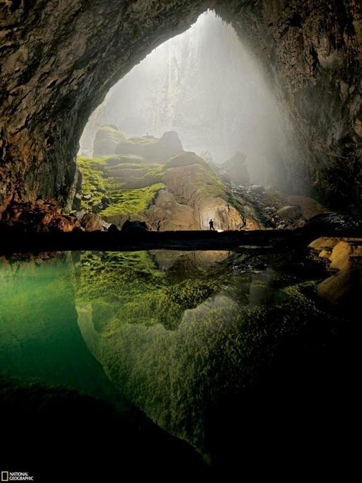 пещера Son Doong вьетнам фото (523x700, 230Kb)