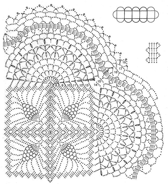 Стильные модели крючком (25) (637x700, 314Kb)