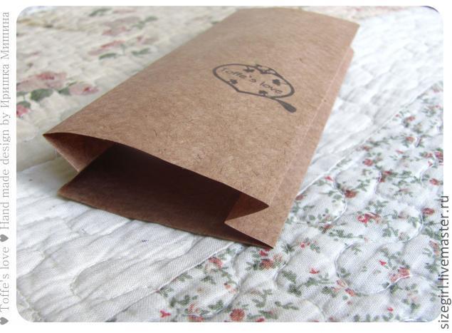 Пакет из плотной бумаги своими руками - ФоксТел-Юг