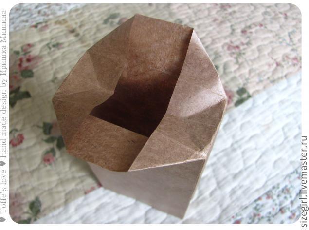Пакетик для подарков своими руками из бумаги фото 280