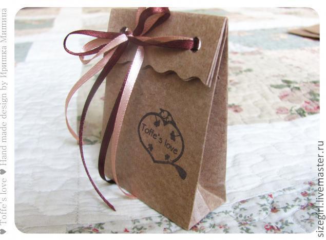 Пакетик для подарков своими руками из бумаги фото 457