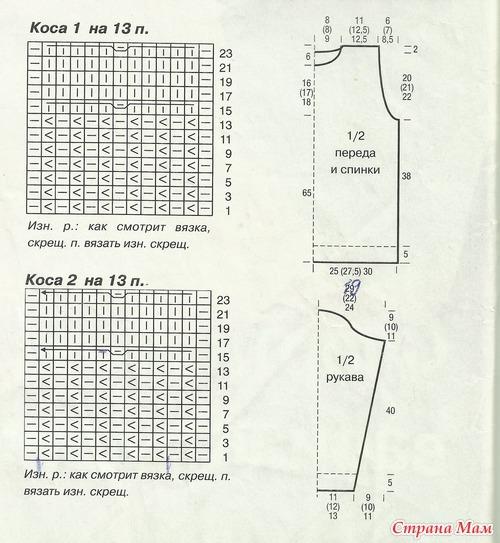 сх розовогосвитера аранами (500x543, 179Kb)