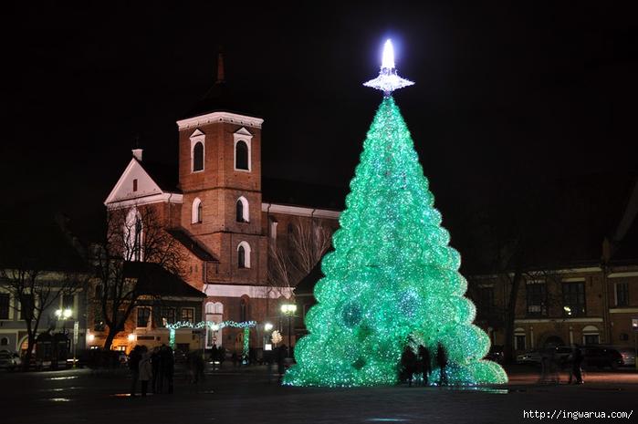 112624-1_largest_christmas_tree_made_of_plastic_bottles_Kaunas (700x465, 209Kb)