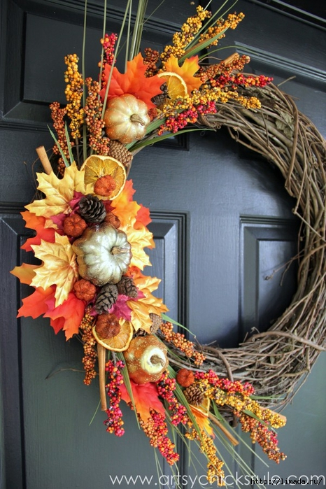 DIY-Fall-Wreath-Fall-Themed-Tour-Side-View-fall-falldecor-diy-artsychicksrule.com_-600x900 (466x700, 308Kb)
