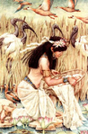 Превью moses in the bullrushes (362x552, 266Kb)