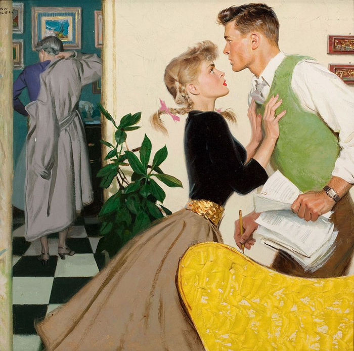 Tom Lovell Tutt'Art@ (14) (700x694, 497Kb)