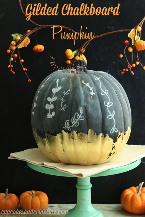 Gilded-Chalkboard-Pumpkin-tutorial-at-cupcakesandcrinoline.com_-700x1050 (466x700, 483Kb)